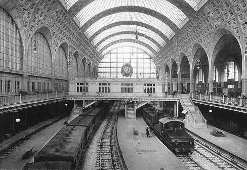 Voyageursaparistome7 Archive Du Blog La Gare Du Mus E D Orsay 1898 1900