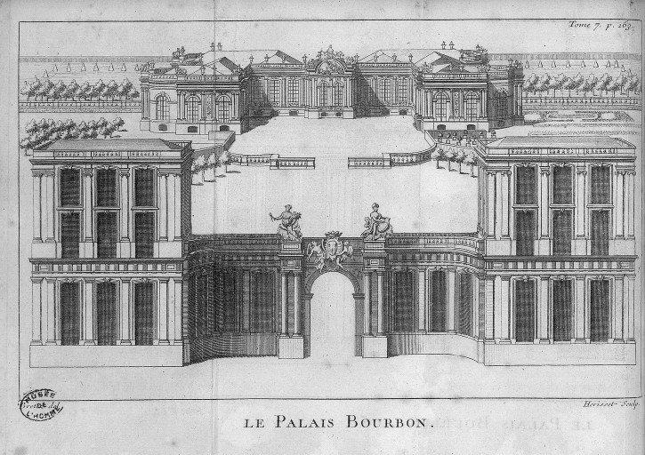 Paris Le Palais Bourbon